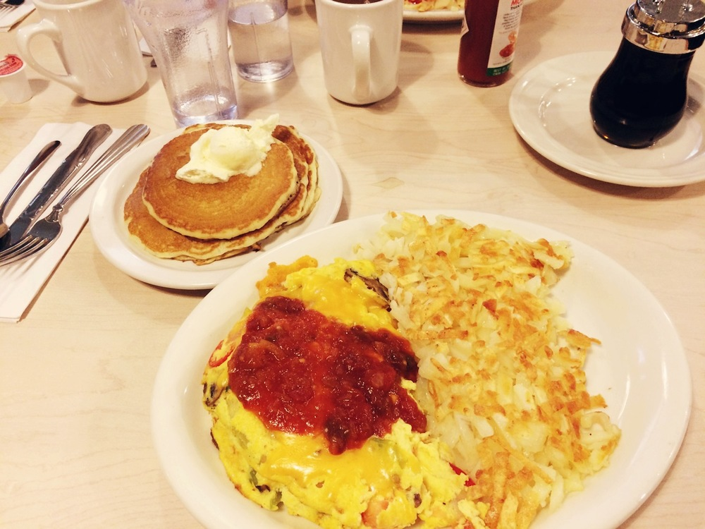 A much-needed breakfast from Peachtree