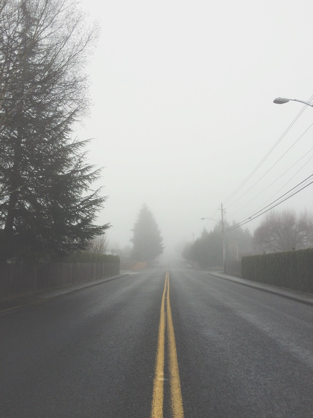 Fog in the hood