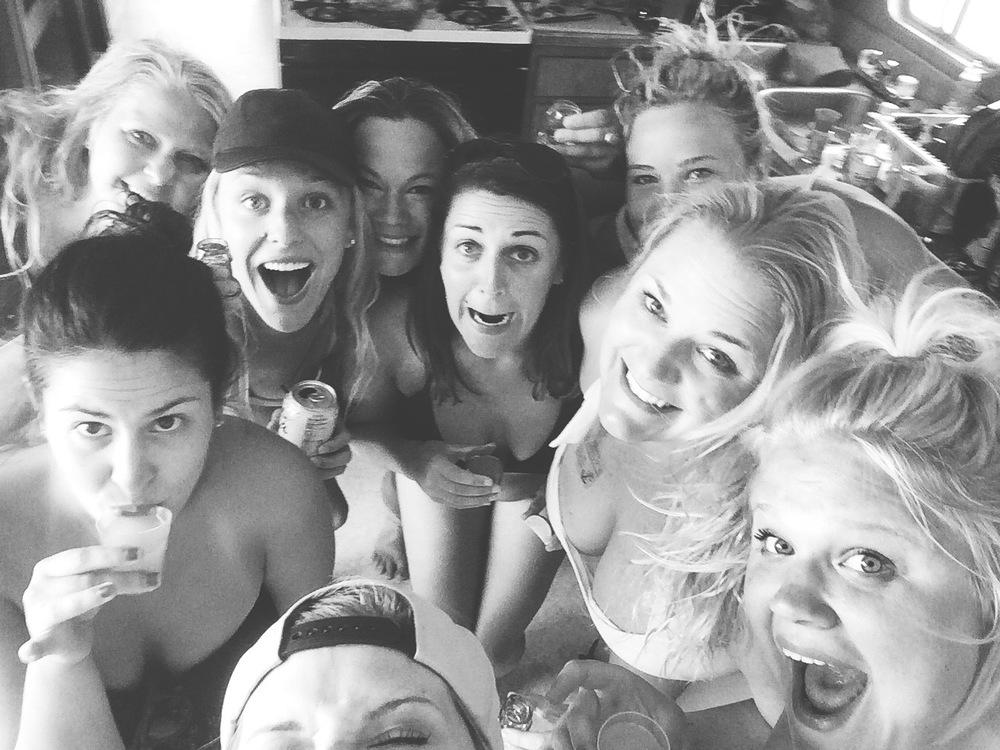 Group photo! Where's Jenni and Alisa?