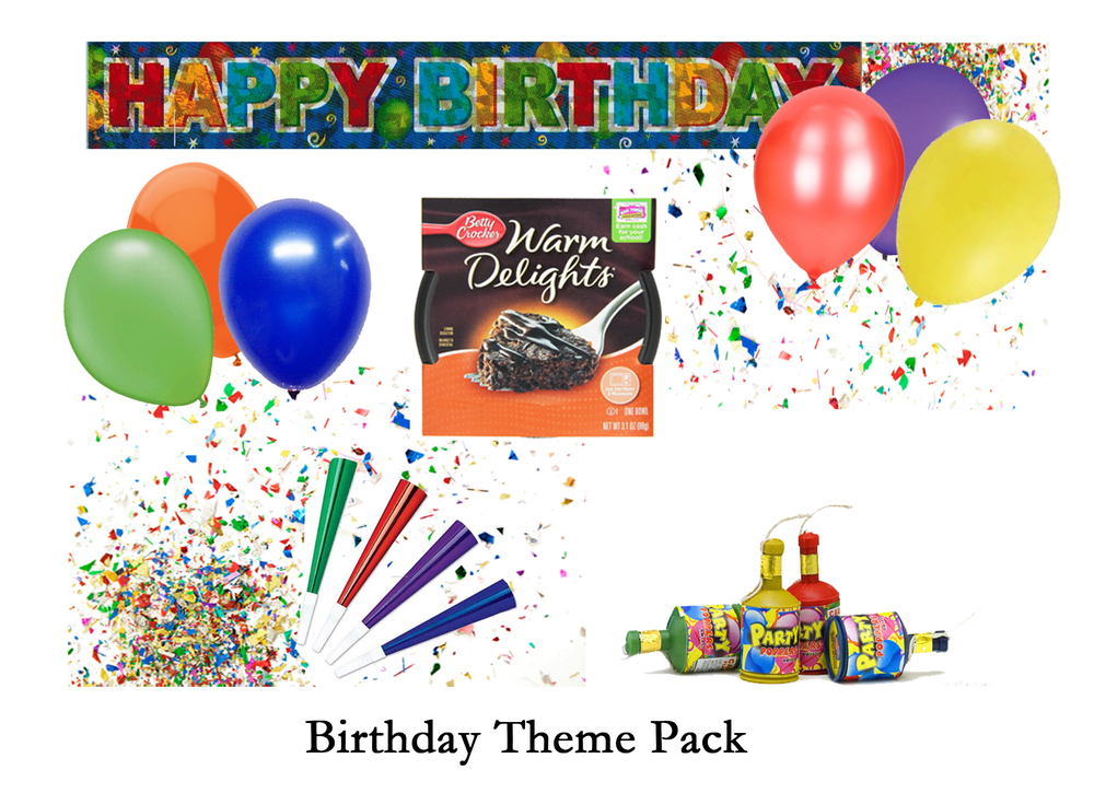 Birthday Theme Pack - add $5.95