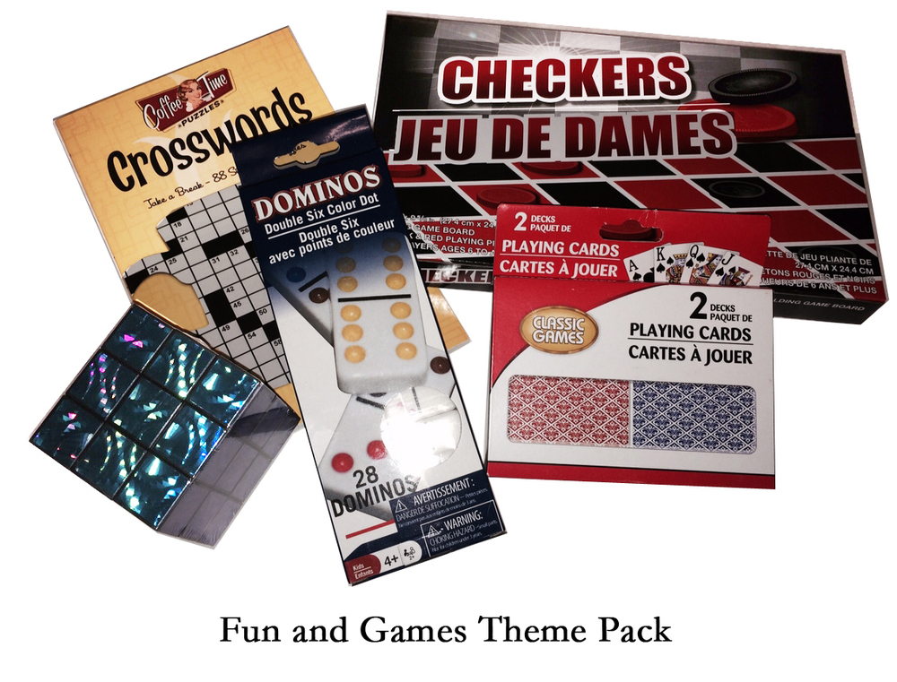 Fun and Games Theme Pack - add $9.95