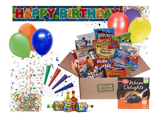Happy Birthday Campus Survival Kit Kits