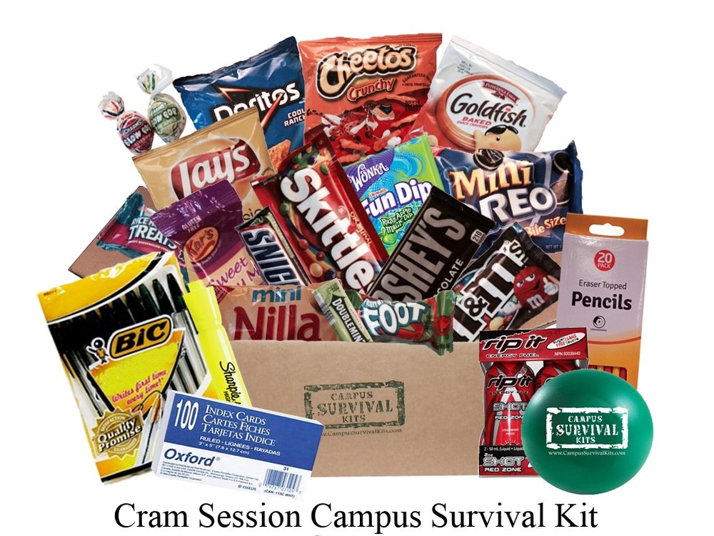 Cram Session Campus Survival Kit