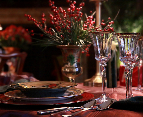Christmas Dinner: $100/person** served plated, restaurant-style