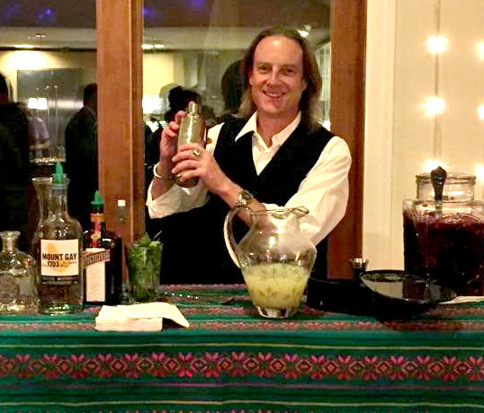 Mike Kelly, our Margarita Master