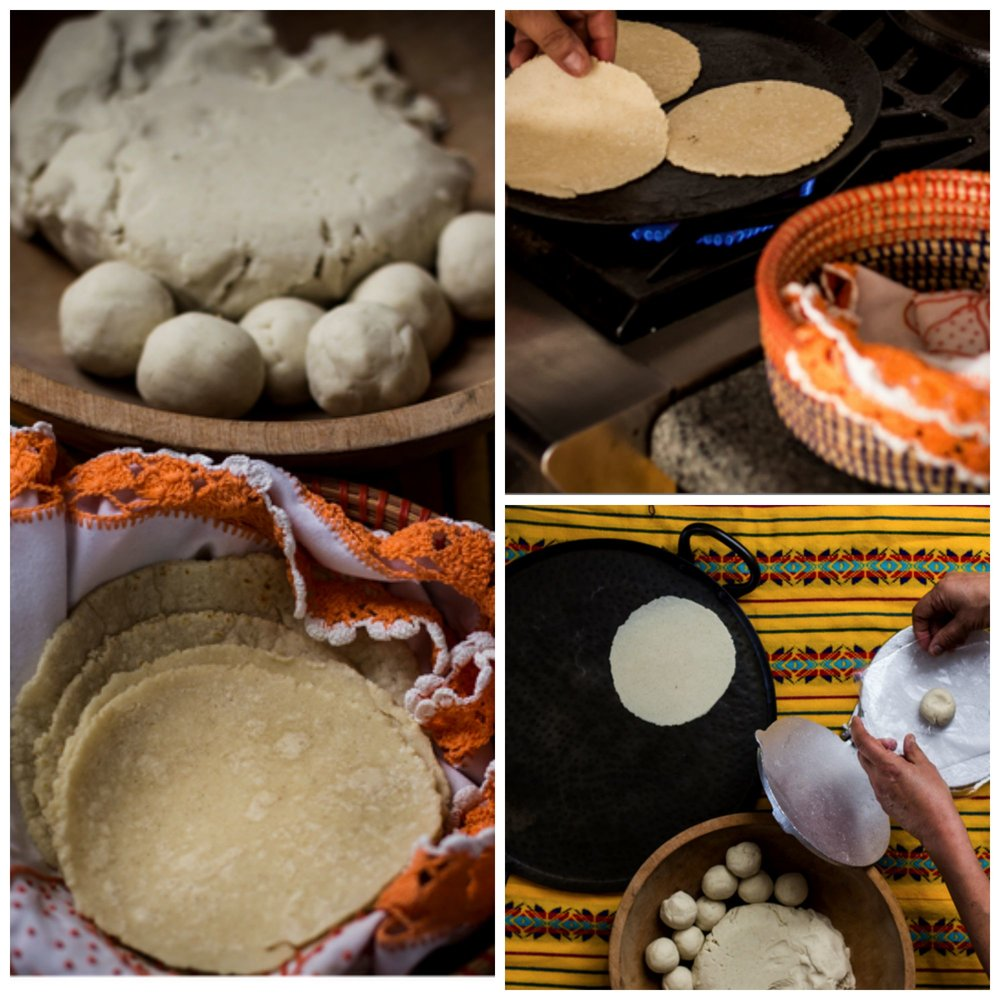 - Watch as our tortillera creates light, fluffy tortillas by hand, right in from of your guests, from corn masa which we get directly from the mollino! (additional charge applies).