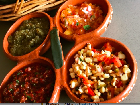 - Artisanal salsas matched to the flavor profiles of your menu selections are served with tacos.