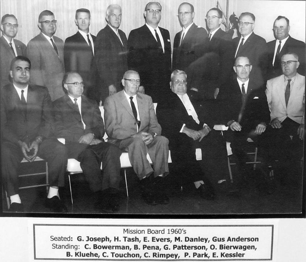 Union Gospel Mission Board, 1960s.JPG