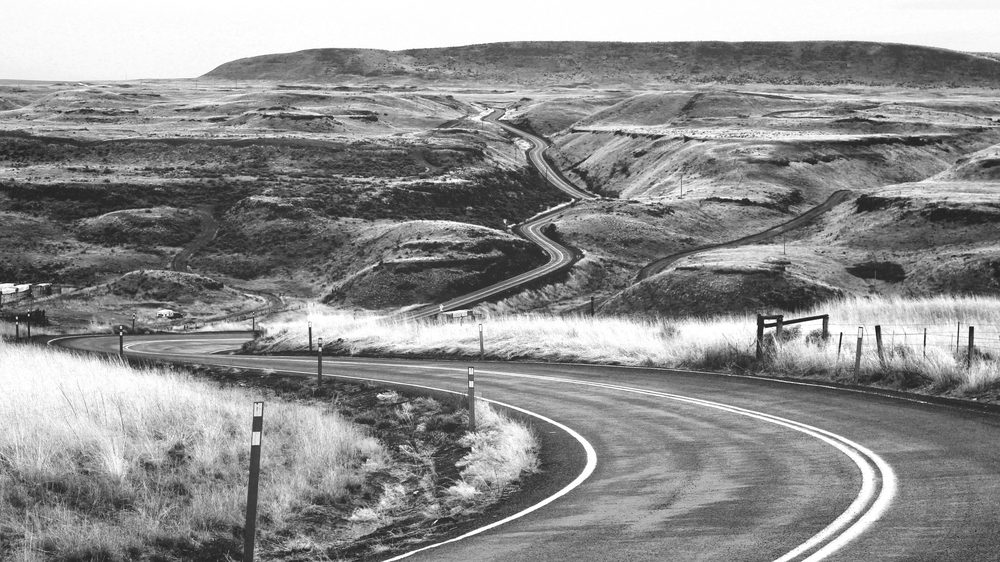 palouse road by jesse bowser, unsplash.com