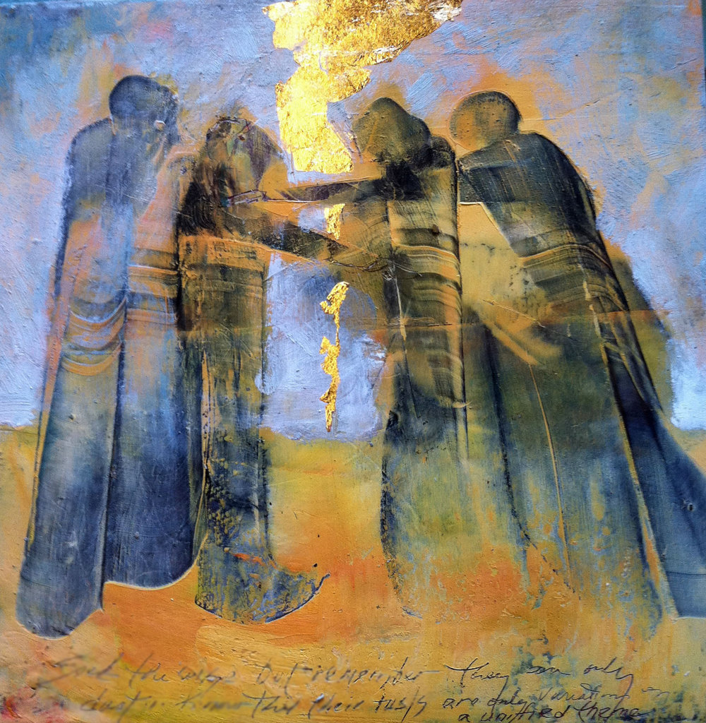 """Variations on a Theme / The four Evangelists"" Grace Carol Bomer, printed by permission Gracecarolbomer.wordpress.com"
