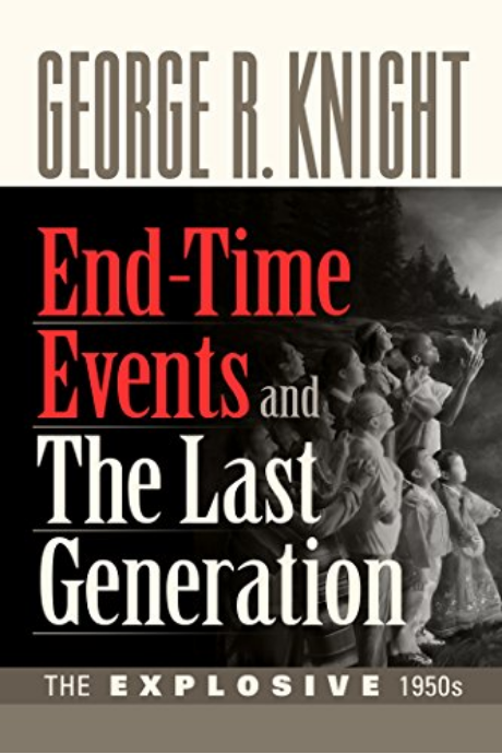 End-Time events and the Last Generationby George R. Knight - Growing up in the church, sometimes we take for granted how our history shapes our current circumstances. This book really helped me connect the dots with current friction points and challenged me to be more engaged in the church I love. —Brian Harris