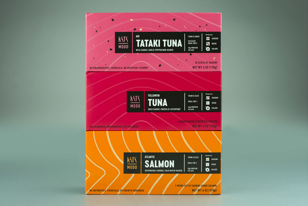 KataModo is a sushi at home kit. Worked with Nucleus Maximus to develop this impactful brand.