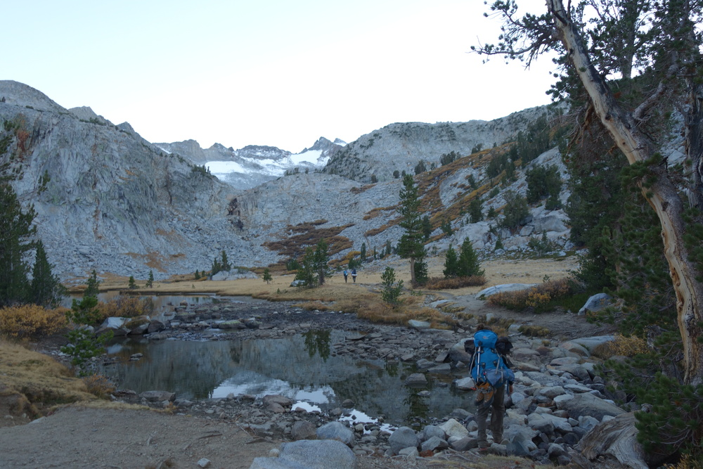 The trail to Mount Lyell
