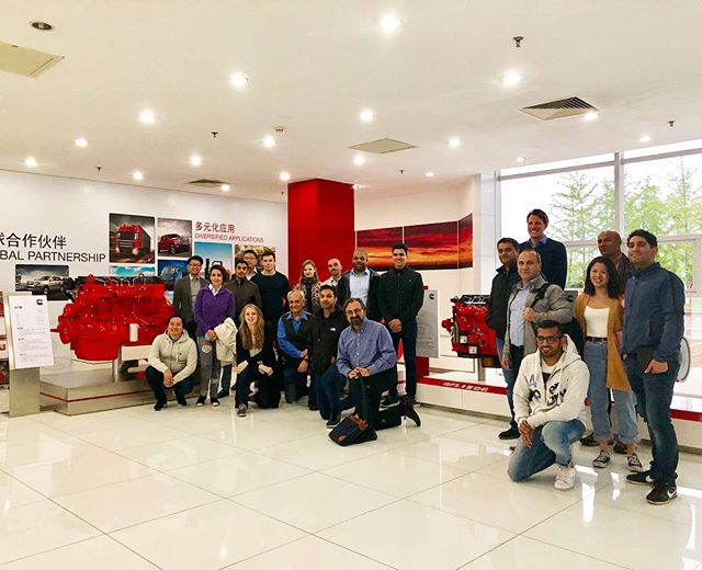 Engine plant tour in Beijing  #chinamanufacturing #studytours #legacyventures #globalimmersion #globalimmersionweek #chinastudytour #chinastudytour #mbatravel #cassmba #chinaplant #mbatrip #mbaabroad #mbastudyabroadtrip #internationaltrip #mbastudytour