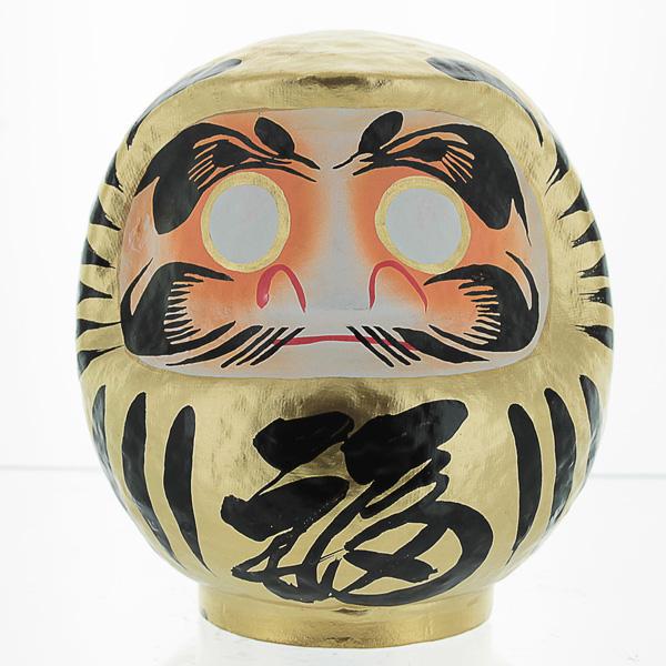 Gold Daruma Doll