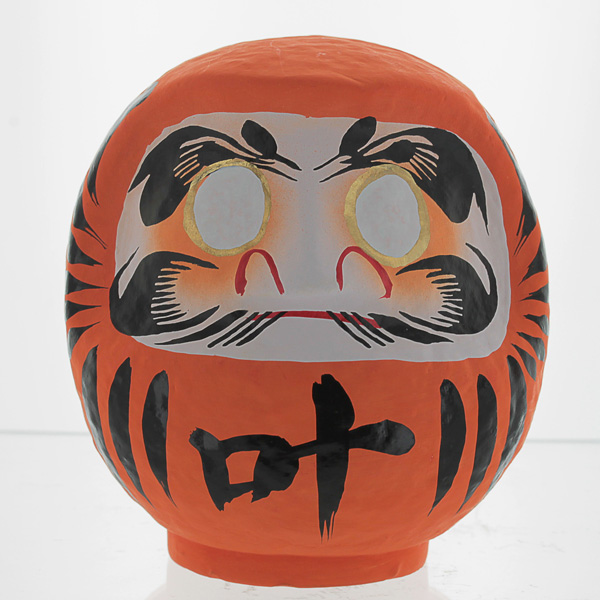 Orange Daruma Doll