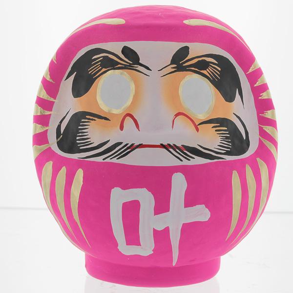 Pink Daruma Doll