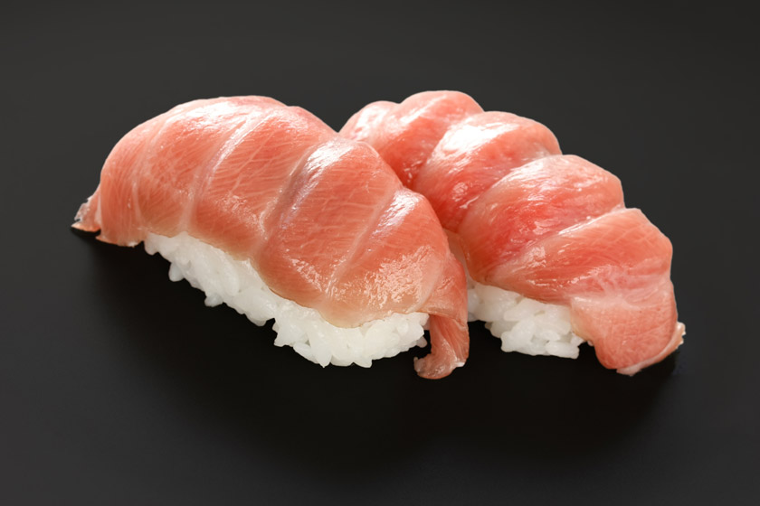 otoro sushi & california roll were invented nearly at the same time.