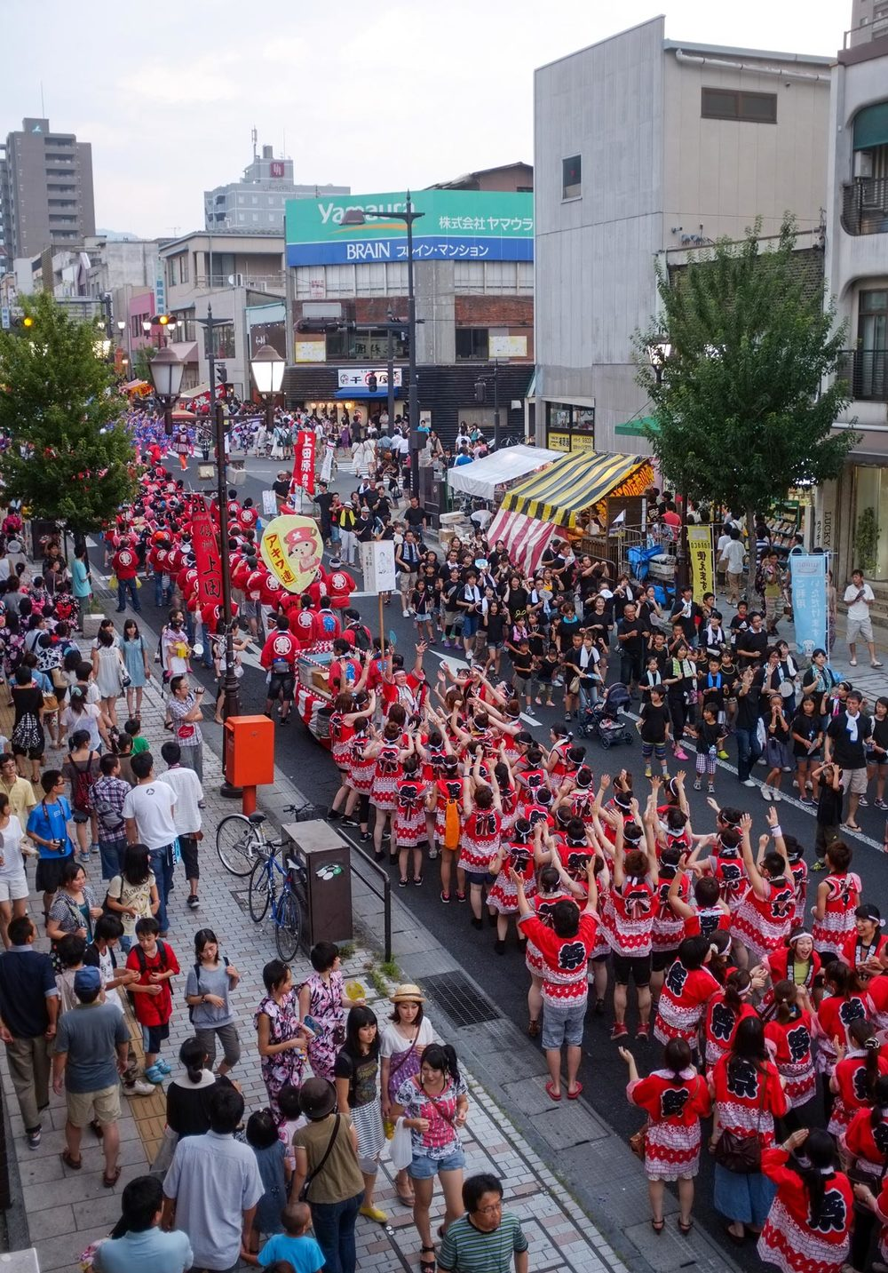 Ueda Wasshoi: The city's biggest summer festival