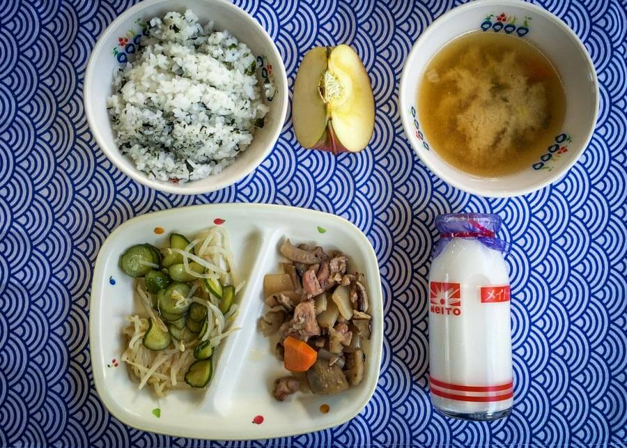 Japanese School Lunch Day 24