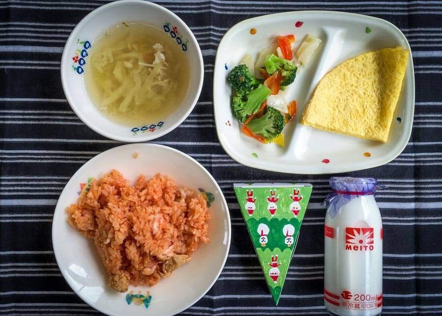 Japanese School Lunch Day 34