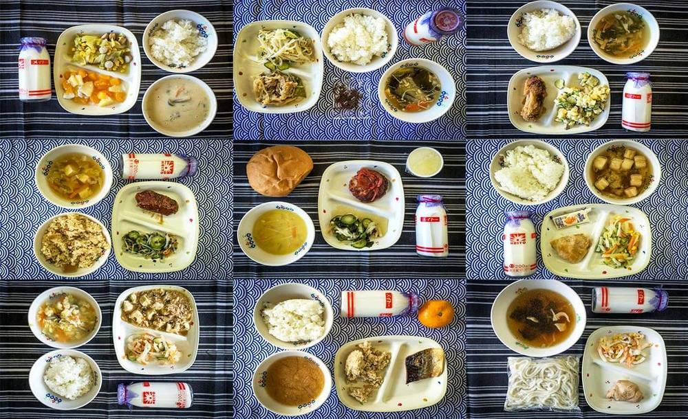 japanese school lunches lead