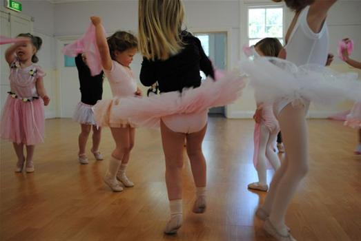 Creative Movement - A 45 minute class for ages 2-3 with an emphasis on fun and creative movement introducing Pre-Ballet, Tap, and Tumbling. (Boys and girls)Wednesdays 3:30-4:15pm4 week session - $50