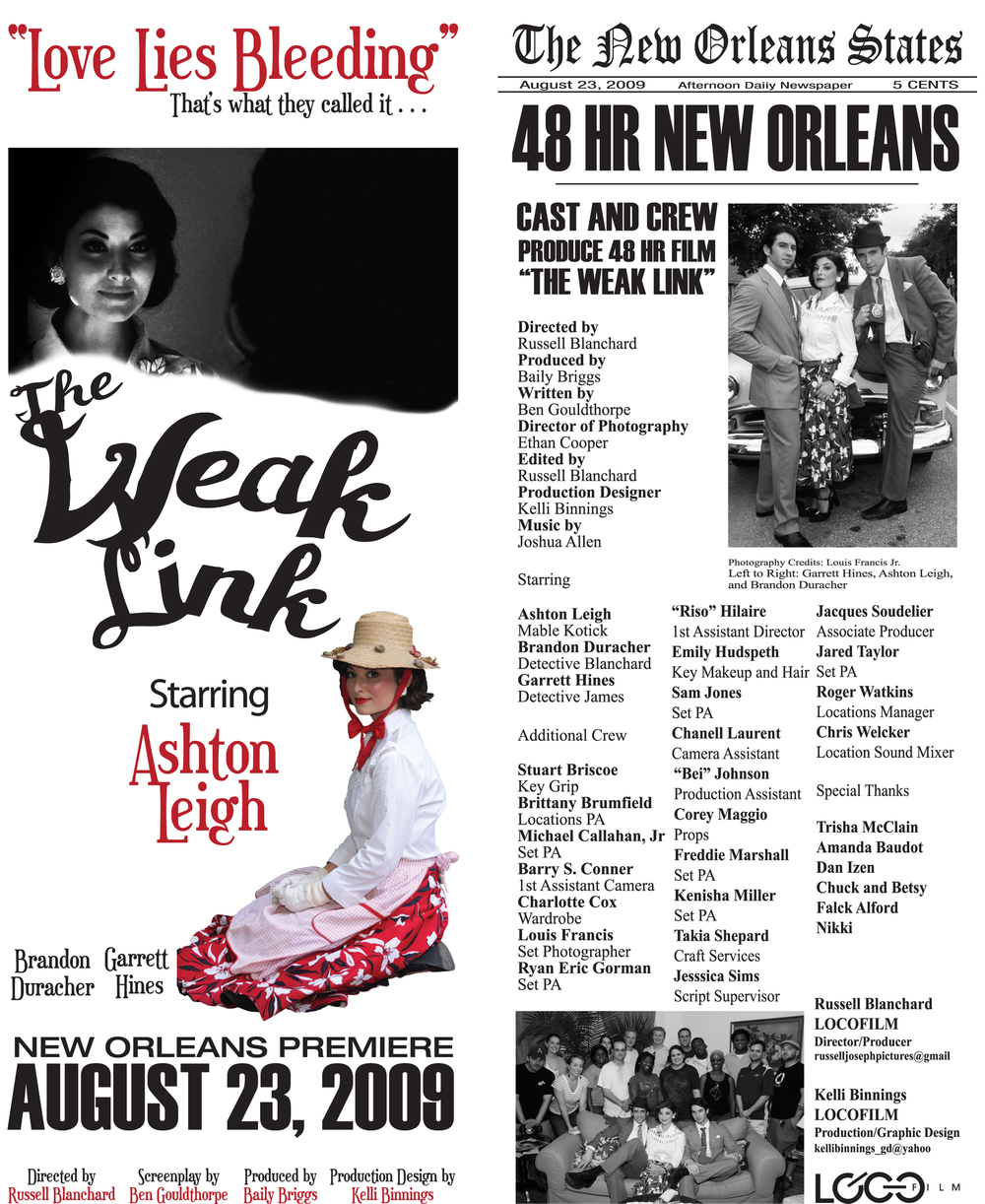 48 hour Film Festival New Orleans