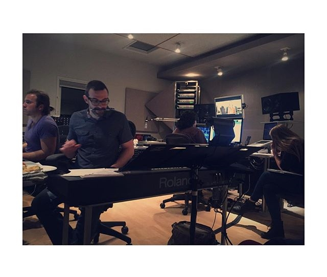 """Such a great recording session a few nights ago at the studio. Crazy to see this original score to our film... So blessed to be working with @gfonda, brought so much life to our movie with his insanely creative score. Big thanks to Scott Frankfurt Studio and all the players involved!!"" // PC & Quote: @jcipiti"