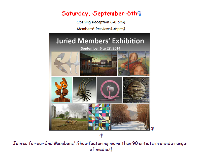 New Hope Members' Exhibition