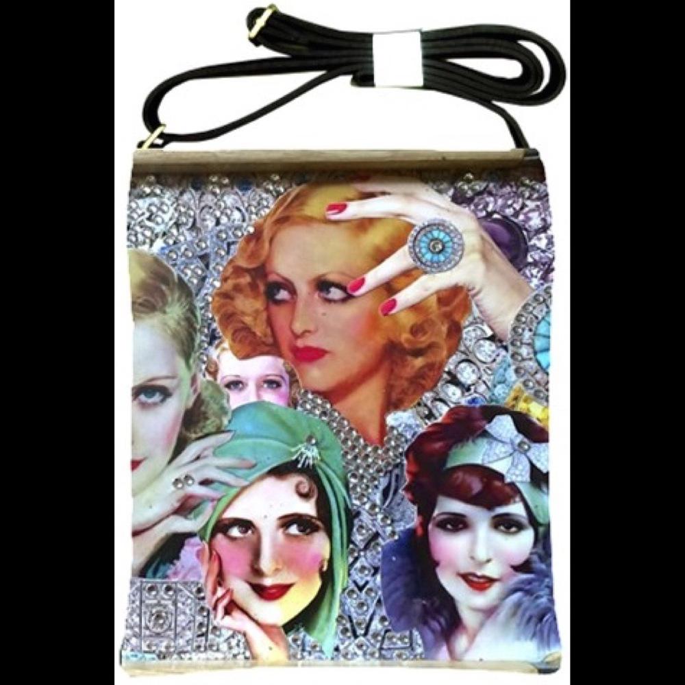 Dueling Divas Crossbody/Shoulder Bag