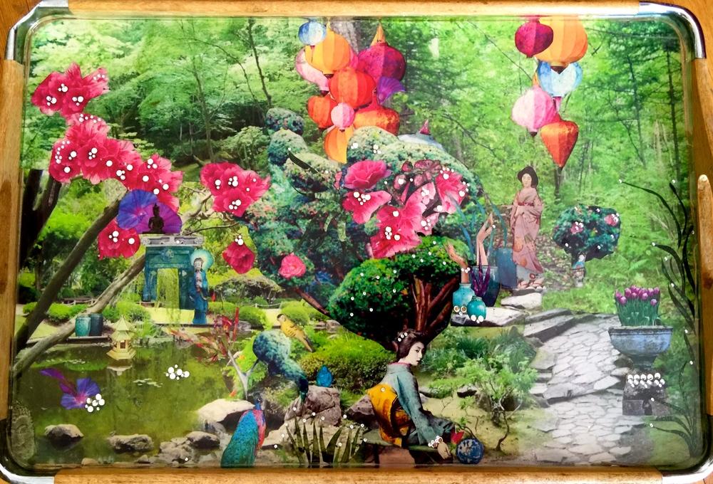 Buddha-ful Garden 11X17