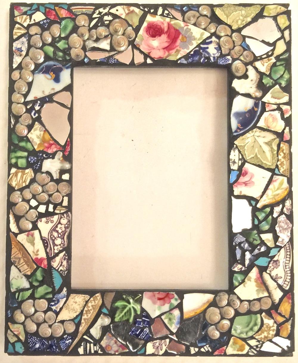 Mosaic Mirror/Frame 5x7 $70
