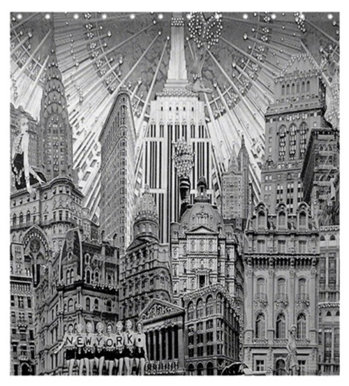 New York Dolls Shower Curtain 66x72
