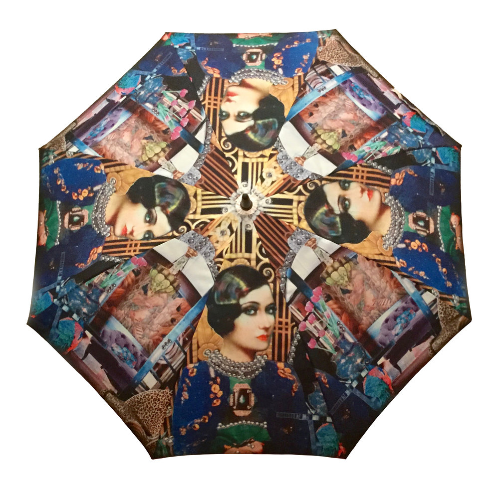 Chinoiserie Medium Umbrella
