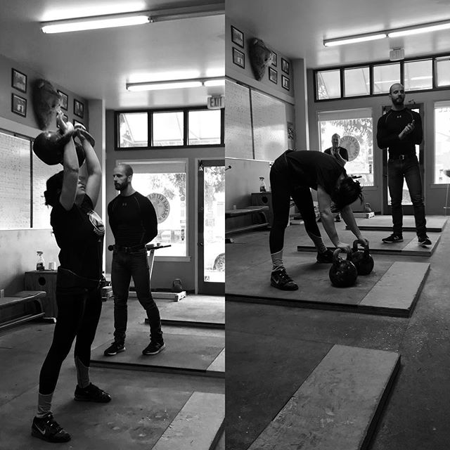 Complete the first LC 10 min set with best coaching. #okcnorth #orangekettlebellclub #kettlebell #kettlebellsport #kettlebellkings @denisvasilevkbsport @tokyokettlebell #nazofoto