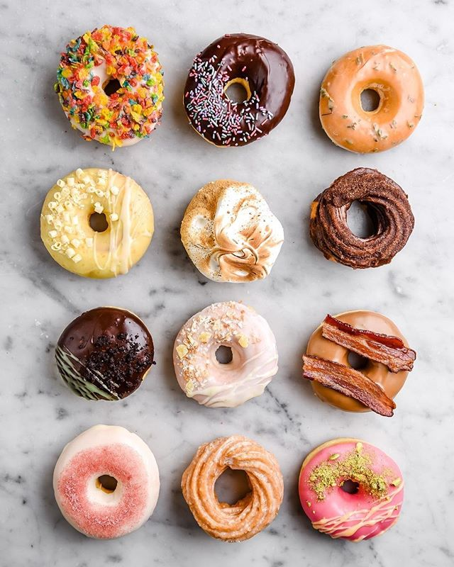 Only two donut Fridays left in 2018, can you believe it friends? The real question is how many donuts is too many to consume before starting #whole30 in January? 🙃⠀⠀⠀⠀⠀⠀⠀⠀⠀ ⠀⠀⠀⠀⠀⠀⠀⠀⠀ 📷: @angelfoodmn + travisandersonphoto⠀⠀⠀⠀⠀⠀⠀⠀⠀ .⠀⠀⠀⠀⠀⠀⠀⠀⠀ .⠀⠀⠀⠀⠀⠀⠀⠀⠀ .⠀⠀⠀⠀⠀⠀⠀⠀⠀ .⠀⠀⠀⠀⠀⠀⠀⠀⠀ .⠀⠀⠀⠀⠀⠀⠀⠀⠀ .⠀⠀⠀⠀⠀⠀⠀⠀⠀ .⠀⠀⠀⠀⠀⠀⠀⠀⠀ . ⠀⠀⠀⠀⠀⠀⠀⠀⠀ #donutfriday #donuts #doughnuts #minneapolisdonuts #mplsdonuts #minneapolis #minnesota #donutobsession #mnphotographer #mnblogger #becausedonuts #dowhatmakesyouhappy #eatwhatmakesyouhappy #minneapolisdoughnuts #donutobsessed #MPLSfood #minneapolisfood #donuts #doughnuts  #sweets #treatyoself #donutfriday #angelfoodmn #angelfoodbakery