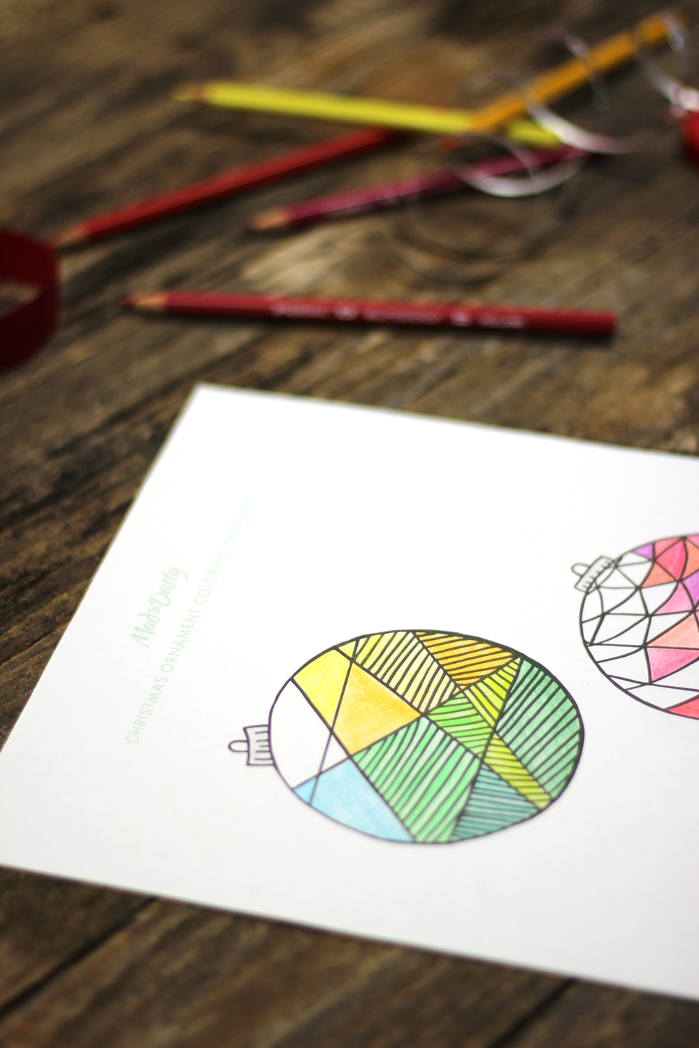 Free Coloring Printables for Christmas