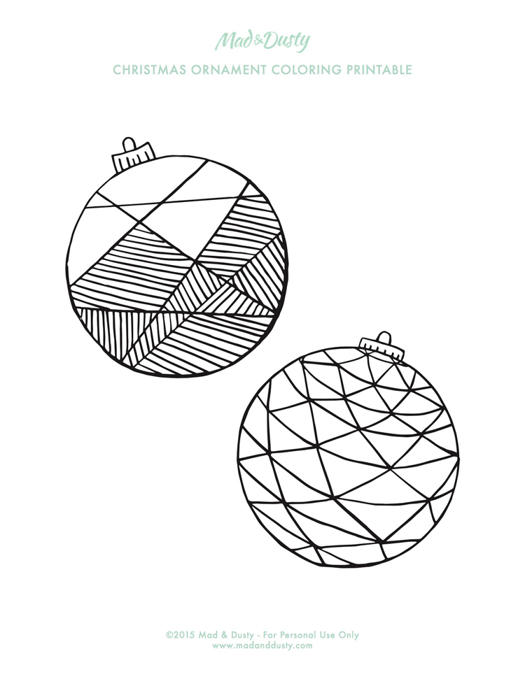 Intermediate Christmas Coloring Pages