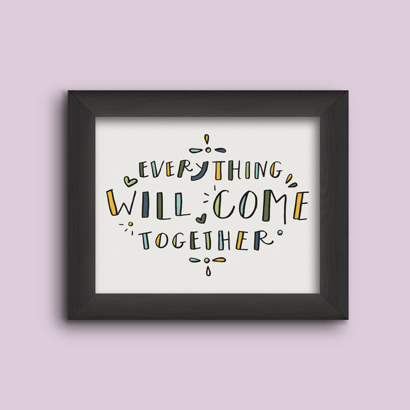 Everything will come together.  Summer Coloring Printables.
