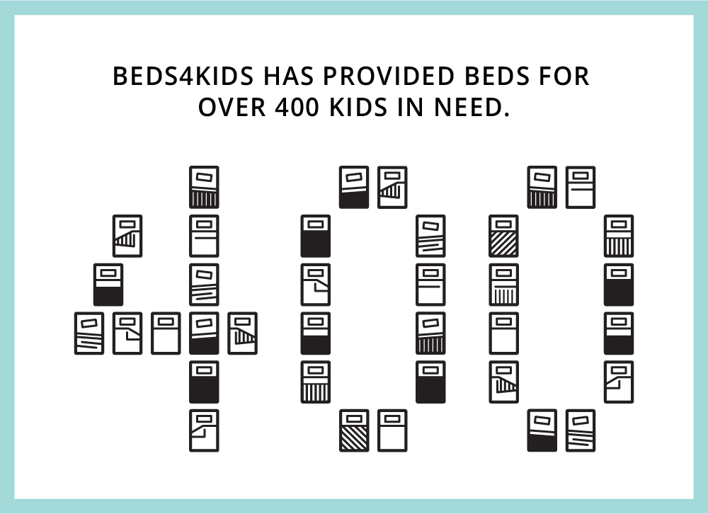 Beds4Kids Bed Icons Arranged