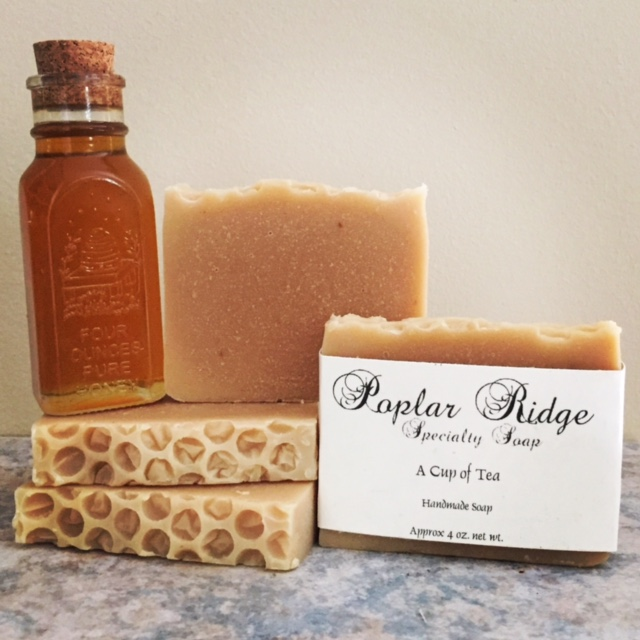 Cup of Tea Soap Poplar Ridge Specialy Soap