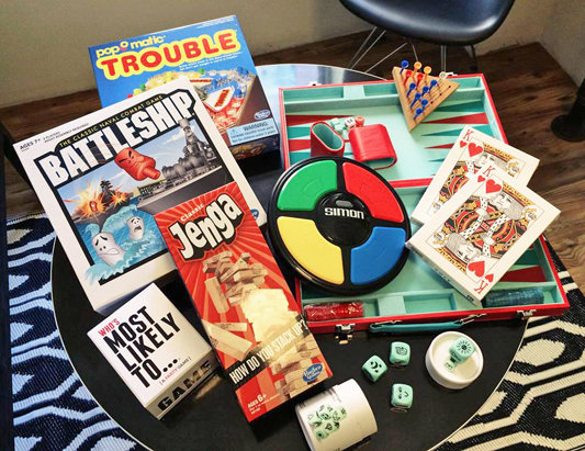 You can also find an assortment of games in the lounge room. Chance upon one of our game nights where guests get a chance to win prizes.