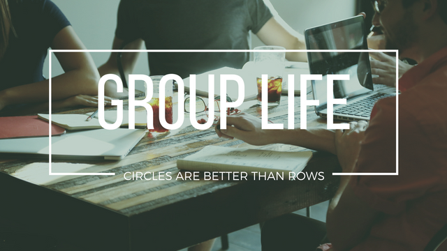 Be In A Group - Spiritual growth happens even greater when we allow our self to connect with other people, hear their stories, maybe share ours, and learn from each other. Find out how you can be a part of a group.