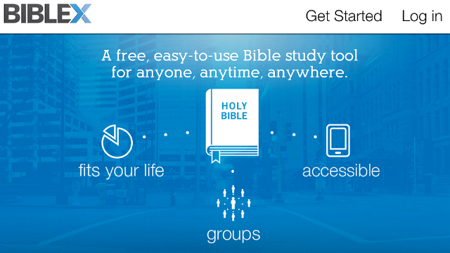 BibleX - This free and easy-to-use Bible study tool connects biblical principles to your everyday life. Use for independent study or with a group of friends.