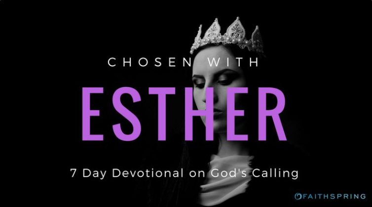 Esther did not have a typical queen's backstory. She was an orphan, living in a strange land with her kind cousin Mordecai. The world overlooked her potential. But God did not. Esther became queen and overcame unbelievable circumstances all because of a single truth; a truth that applies to us as well: God has chosen us for this very moment. Begin discovering today how to live out your unique calling.
