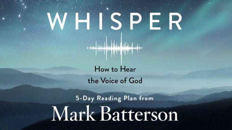 God speaks to His children today just as He did in Bible times—through Scripture, dreams, people, desires, pain. How do we discern what He is saying? How do we quiet our lives enough to hear the divine whispers that draw us closer to Him? I pray this five-day devotional will inspire you to hear God's voice of love in a new, life-changing way…as the whisper of a God who wants to hold you close.