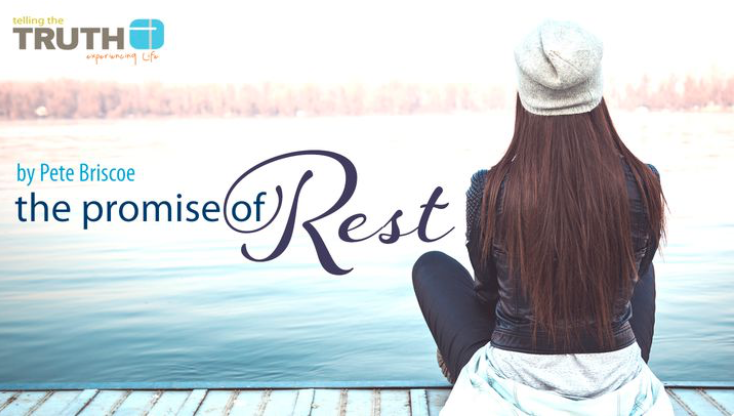 Are you feeling consumed by your work and home schedules? Do you struggle with anxiety and sleepless nights instead of finding rest? God invites us to rest. But true rest requires us to trust God. In this 5-day reading plan Pete Briscoe teaches about God's promise of rest.