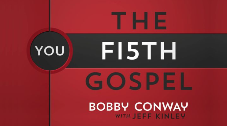 """There are five Gospels: Matthew, Mark, Luke, John, and the Christian. But most people never read the first four."" Jesus intends for ordinary Christians to live lives that visibly display the Good News of salvation ""The Fifth Gospel"" will prepare you to represent your Savior well and communicate your faith in a way that makes sense to a watching world."