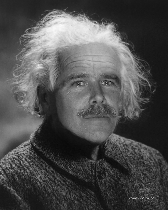 Visage merged with Einstein for a going-away gift